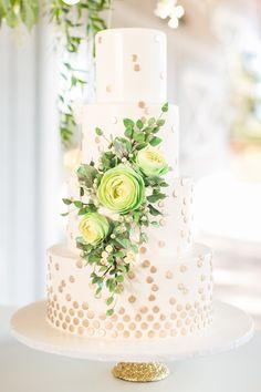 Wedding cake idea; Featured photographer: Amalie Orrange Photography