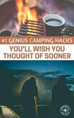 41 Genius Camping Hacks You'll Wish You Thought Of Sooner - Some of these are known but some are not. It is the perfect weather right now to go camping so if you do try any of these hacks, let us know, we would love to hear about it. #preparedness #prepping #prepper #survival #camping #campinghacks