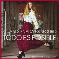 Posible!!  #determinación #hazloposible #metas #mujer  http://www.littleclosetboutique.com/