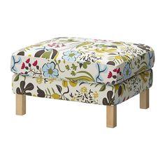 KARLSTAD Poggiapiedi IKEA Ideale come sedile supplementare o poggiapiedi.