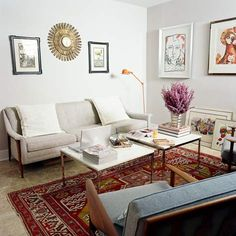 Small flat - living room ideas