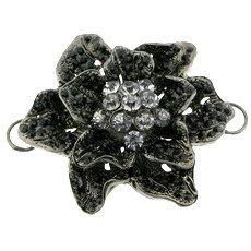 Black Crystals Rhinestones Black Gun Metal by FancyGemsandFindings, $25.00 All Black Everything, Black Crystals, Crystal Rhinestone, Rhinestones, Retro Vintage, Trending Outfits, Unique Jewelry, Handmade Gifts, Metal