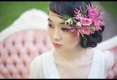 A floral halo for the boho bride | Magnolia Street Photography