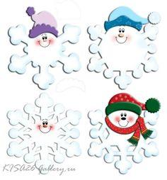 Gallery.ru / Fotografie # 13 - Novoročné tanier - Kisa26 Holiday Crafts, Christmas Crafts, Christmas Decorations, Xmas, Christmas Ornaments, Holiday Decor, Felt Crafts, Diy And Crafts, Crafts For Kids