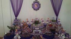 Mesa de dulces princesa sofia 1