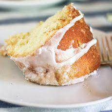 Lemon Buttermilk Rhubarb Bundt Cake II Recipe