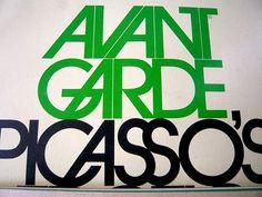 Avant Garde Magazine    Issue 8. Design by Herb Lubalin