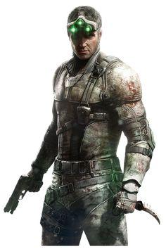 Sam Fisher - The Splinter Cell Wiki Splinter Cell Blacklist, Tom Clancy's Splinter Cell, Military Love, Army Love, Video Game Art, Video Games, Fisher, Metal Gear Rising, Warrior King