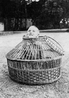 A child arrives at the Slipshod Home for Feeble Minded Children. Horrific.