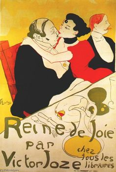 Reine de Joie  Henri de Toulouse-Lautrec  Media Oil  Style Art Nouveau  Subject Love