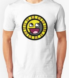 Awesome face ancap T-shirt available at our libertopia store! See: https://www.redbubble.com/people/lewisliberman #ancap #anarchocapitalism #voluntaryist #voluntaryism #libertarian #libertarianism #wearableart #tshirt #ancapball #ancapman #awesomeface #awesome