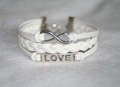 Love for Eternity, White Bracelet