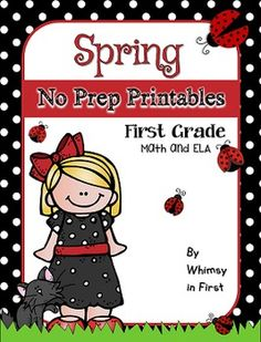 Spring and Easter themed NO PREP April activities! You will get 51 math printables and 38 ELA printables. These include Spring Activities and Easter Activities. This resource is packed with a variety of stress free, no prep printables for math and ELA that are perfect for review, early finishers, centers, supplementing lessons, morning work, substitutes, homework, and more. No prep is involved and the only supplies you need are pencils and crayons.