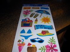 Summertime Fun Stickers