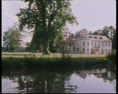 """Wherwell Priory featured as Gossington Hall in """"The Body In The Library"""" (1984) with Joan Hickson as Miss Marple."""