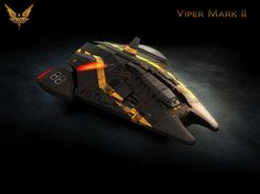 the Viper MkII from the newest Elite game