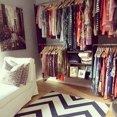 walk in wardrobe (: