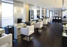 beauty salon decorating ideas photos | Modern Hair Salon Design Ideas | HOMENIT