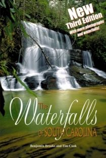 Waterfalls of South Carolina. There are over 50 waterfalls in the Upstate. This book gives directions to them all - even the ones that you have to hike to.