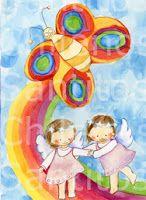 Santitos para mellizos www.santitoschilenos.blogspot.com diseños originales Victoria Achurra Princess Peach, Twins, Victoria, Fictional Characters, Saints, Fraternal Twins, First Holy Communion, Christening, The Originals