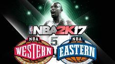 NBA 2k17 All Star Team Up with Kevin Garnett! Part 1