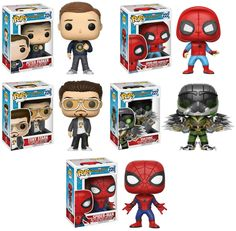 Spider Man With Headphones Funko Pop Marvel Spider Man