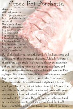 Crock Pot Porchetta // Licking the Plate