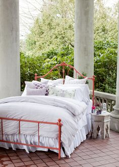 Painted Bed