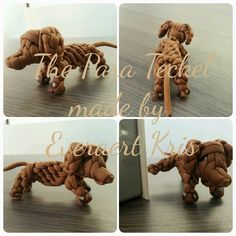 The Para Teckel (Dog)  Made by Everaert Kris