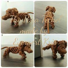 The Para Teckel (Dog)  Made by Everaert Kris