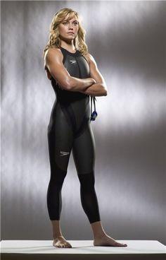 La nadadora estadounidense Natalie Coughlin es una de las más guapas de los JJOO de Londres.