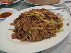 Mu Shu Pork Excellent recipe, but I added some grated ginger and grated garlic just prior to stir-frying the vegetables