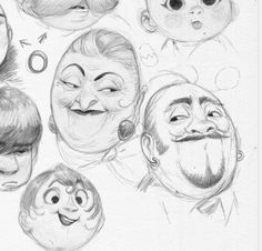 Exercise list with round heads (by Blad Moran)