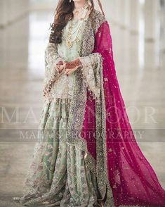 Buy Leading Designer Suits online perfect for Weddings and traditional occasions. Choose from our wide collection of Leading Designer Suits and ace the luxurious look at any party at affordable prices. Pakistani Bridal Hairstyles, Asian Wedding Dress Pakistani, Pakistani Bridal Couture, Beautiful Pakistani Dresses, Pakistani Fashion Party Wear, Pakistani Dress Design, Pakistani Engagement Dresses, Latest Pakistani Dresses, Indian Bridal