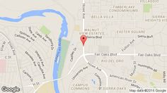 Larkspur Landing Sacramento - An All-Suite Hotel Map