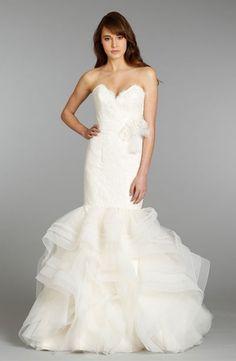 Bridal Gowns: Alvina Valenta Mermaid Wedding Dress with Sweetheart Neckline and Natural Waist Waistline