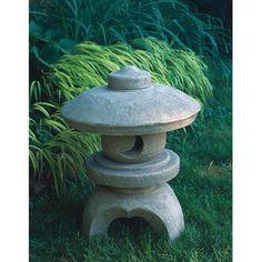 Campania International, Inc Morris Round Pagoda Statue - Color: English Moss