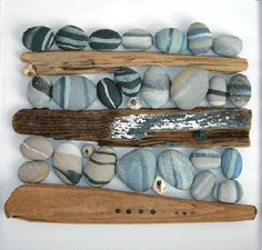 Ceramics by Jo Connell at Studiopottery.co.uk - Trapped pebbles, 2007.