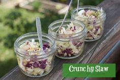 Triple Crunch Cabbage Salad with Marcona Almonds and Caraway Vinaigrette