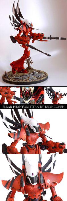 Saim Hann Eldar Phantom Titan - Broncofish
