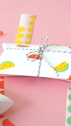 Make Cute Watermelon Stickers