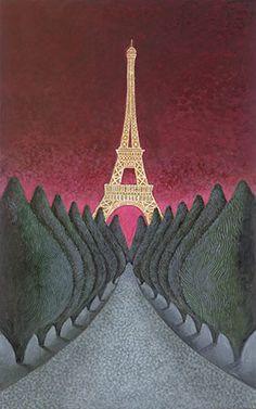 Eiffel Tower - Lowell Herrero