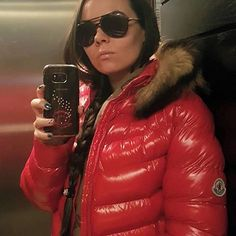 Down Winter Coats, Winter Jackets, Moncler Jacket Women, Down Suit, Winter Suit, Down Puffer Coat, Puffy Jacket, Shearling Coat, Nylons