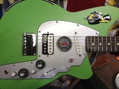 Coolest guitar ever - custom made by Reverend Guitars Reverend Guitars, Guitar Design, Custom Guitars, Cool Guitar, Acoustic Guitar, Musical Instruments, Electric Guitars, Cool Stuff, Mopar