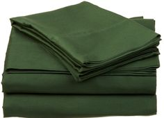 Green Sheets - check various designs and colors on Pretty Home