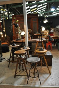 Good Industrial And Shop Furniture Nord Ouest Antiquités