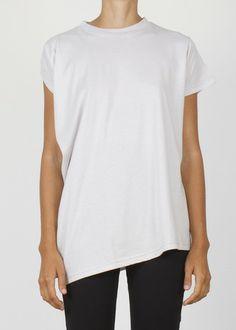 current t - paste white shirt complex geometries