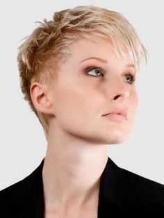 famous super short haircuts for women