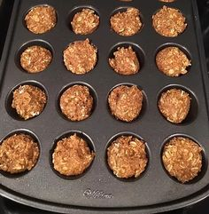 These are delicious and great for on the go! You don't have to eat oatmeal as oatmeal! You can be creative and make other things with your oatmeal.....like coo