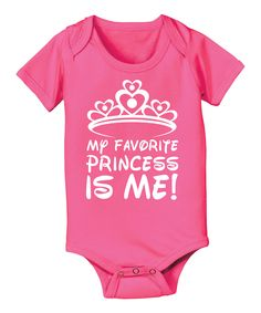 'My Favorite Princess Is Me' Bodysuit